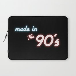 Neon Made in the 90s Laptop Sleeve