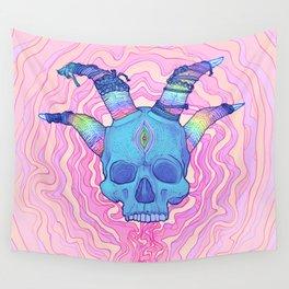 Mana Skull 2 Wall Tapestry