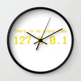 127.0.0.1 - IP address Wall Clock