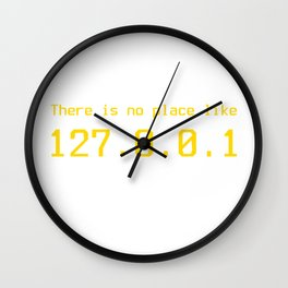 127.0.0.1 - IP address Wall Clock