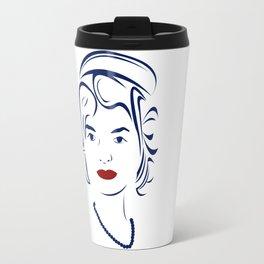 Jackie Kennedy - Hairography Jackie O Travel Mug