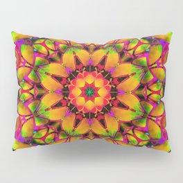 Floral Fractal Art G543 Pillow Sham