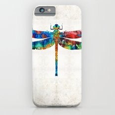 Colorful Dragonfly Art By Sharon Cummings iPhone 6 Slim Case