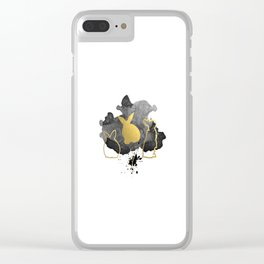 Bunnies Version 3 Clear iPhone Case