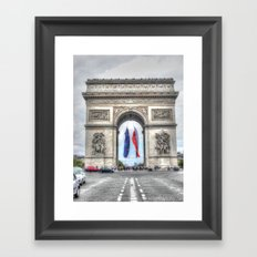 Arc de Triomphe 2 Framed Art Print
