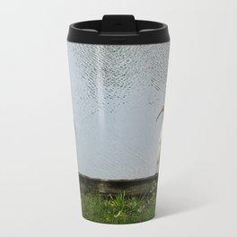 A Lakeside Chat Travel Mug