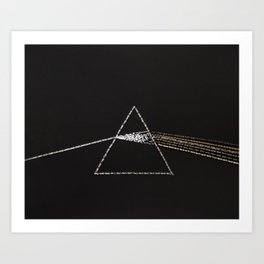 001: Pink Floyd - 100 Hoopties Art Print