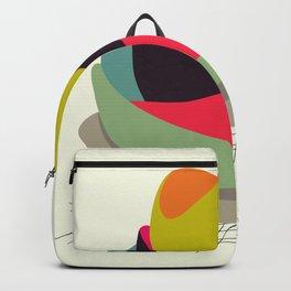 Retro Tom Kha #society6 #decor #buyart Backpack