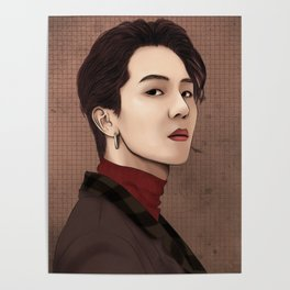 winner mino fanart Poster