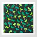 Palm tree pattern by cocodes