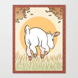 YoTR Goat Canvas Print