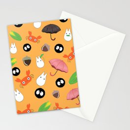 Let's meet the forest god Stationery Cards