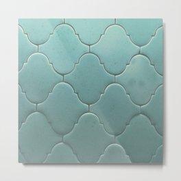 antique tiles Metal Print