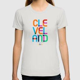 Cleveland Ohio Mid Century, Pop Art, T-shirt