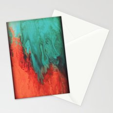 Vintage red and blue Stationery Cards