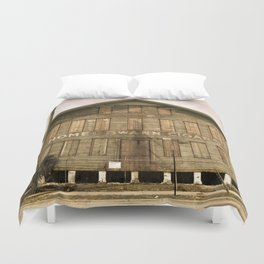 Historic Ybor Building Duvet Cover