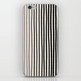 Black Vertical Lines iPhone Skin