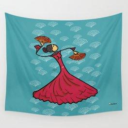 Flamenco dancer Wall Tapestry
