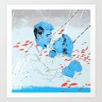 Love at Sea Art Print
