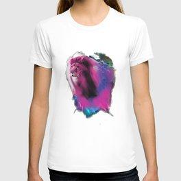 Lightning lion T-shirt