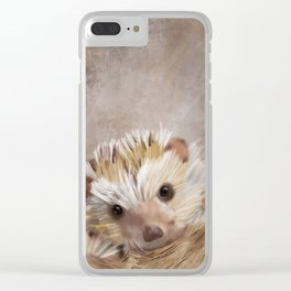 Hedgie Clear iPhone Case