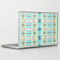 striped Laptop & iPad Skins featuring Striped out by Truly Juel