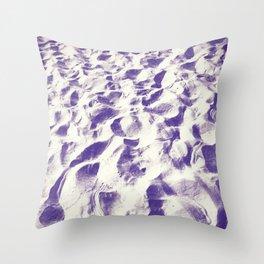 Midnight Sand  Throw Pillow