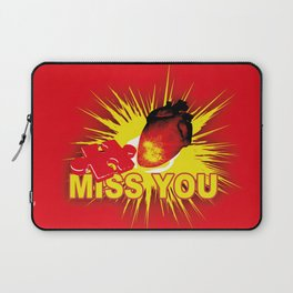 missing part of my heart Laptop Sleeve