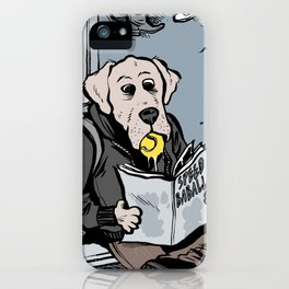 Ball-addicted dogs iPhone Case
