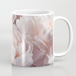 Floral Photography | Peony Pink Cluster | Flowers | Botanical | Plant Coffee Mug