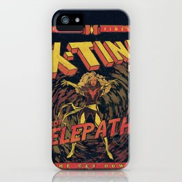 Xtina Telepathy iPhone Case