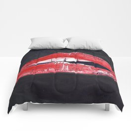 Rocky Horror Sexy Lips Comforters