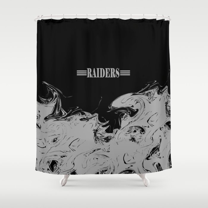 THE RAIDERS Shower Curtain