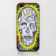 NEON SKULL iPhone & iPod Skin