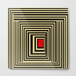 Red point Metal Print