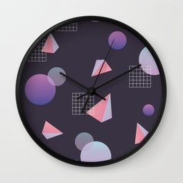 Infinite Holo - grow Wall Clock