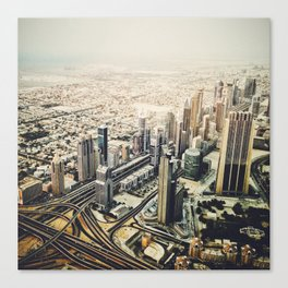 dubai downtown Canvas Print