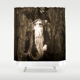 Oberon King of the Wood Faires Shower Curtain