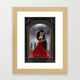 Scarlett & Julian Framed Art Print