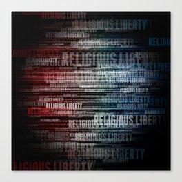 Religious Liberty Canvas Print
