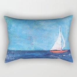 Nainy's Boat Rectangular Pillow