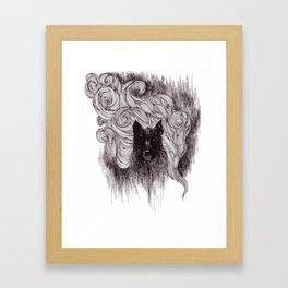 Terror Framed Art Print