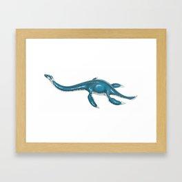 Plesiosaur Framed Art Print