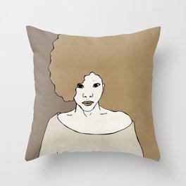 Female Four Throw Pillow