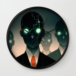 Microchip mind control Wall Clock