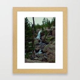 Alberta Falls Framed Art Print
