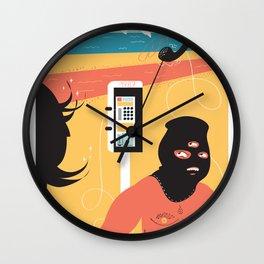 Holidays 2 Wall Clock