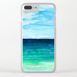 Love You Tulum + Back Clear iPhone Case