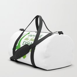 INHALE the future EXHALE the past Duffle Bag