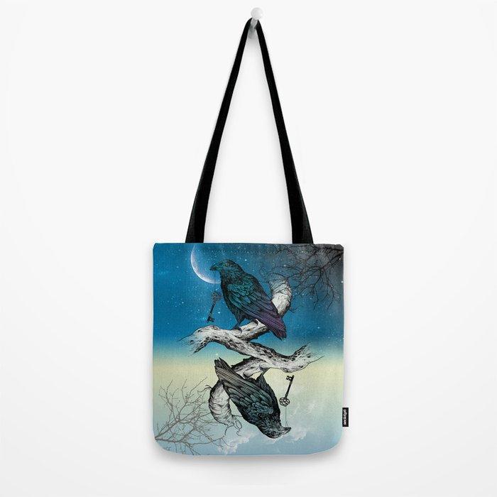 Raven's Key Night+Day Tote Bag
